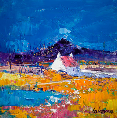 Autumn Light, Pennyghael, Isle of Mull by John Lowrie Morrison