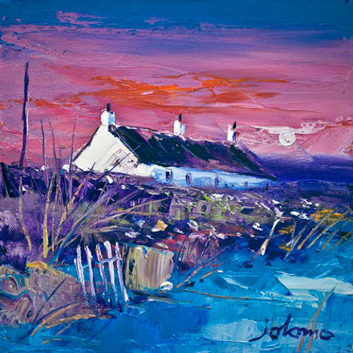 Evening Gloaming, Easdale Island by John Lowrie Morrison