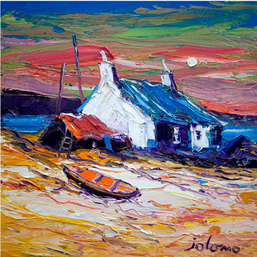 Storm Coming in East Harris by John Lowrie Morrison