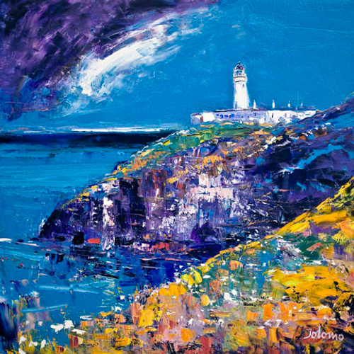 Tiumpan Head Light, Isle of Lewis by John Lowrie Morrison