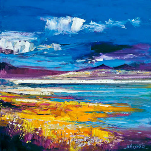 Evening Light, Luskentyre, Isle of Harris by John Lowrie Morrison