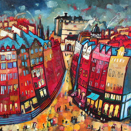 Edinburgh Nights by Rob Hain