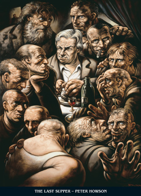 The Last Supper by Peter Howson OBE