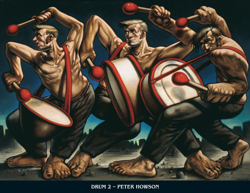 Drum II by Peter Howson OBE