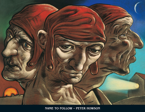 The Mind of Dante by Peter Howson OBE