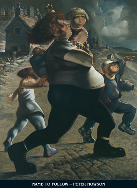 The Blind Leading the Blind I by Peter Howson OBE