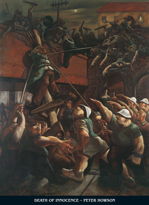 Death of Innocence by Peter Howson OBE
