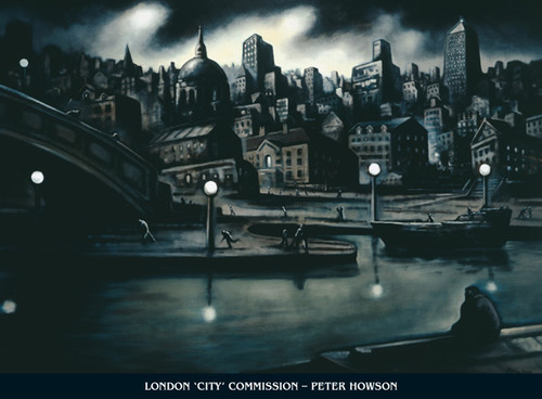 London by Peter Howson OBE