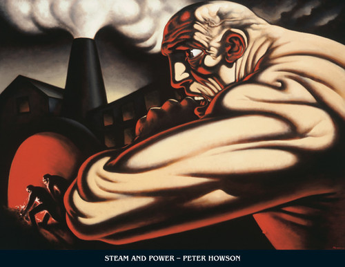 Steam and Power by Peter Howson OBE