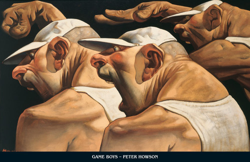 Game Boys by Peter Howson OBE