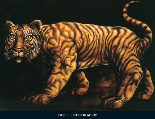 Tyger by Peter Howson OBE