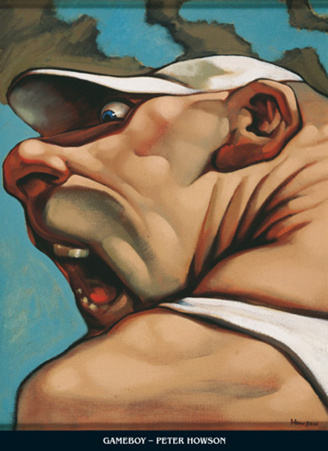 Game Boy by Peter Howson OBE