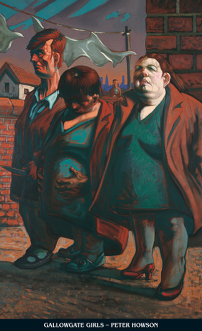 Gallowgate Girls by Peter Howson OBE