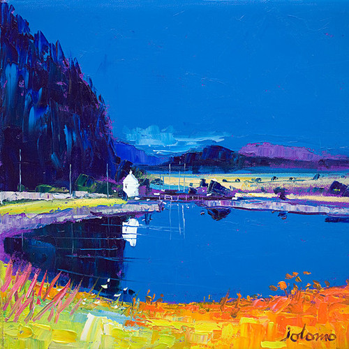 Dunardry Reflections Crinin Canal by John Lowrie Morrison