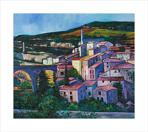 Evening Sunlight Minerve by Davy Brown