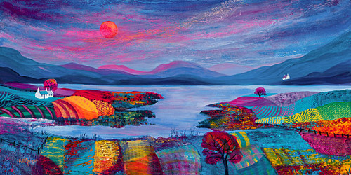 Picturesque Loch by Kathleen Buchan