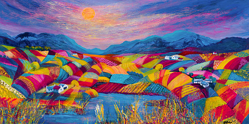 Rainbow Fields by Kathleen Buchan