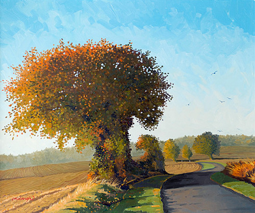 Autumn Sunlight by Frank Colclough