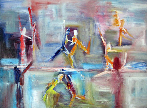 Dancing On Ice by Rina Bakis