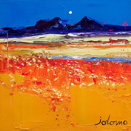Autumn Evening Isle Of Colonsay by John Lowrie Morrison