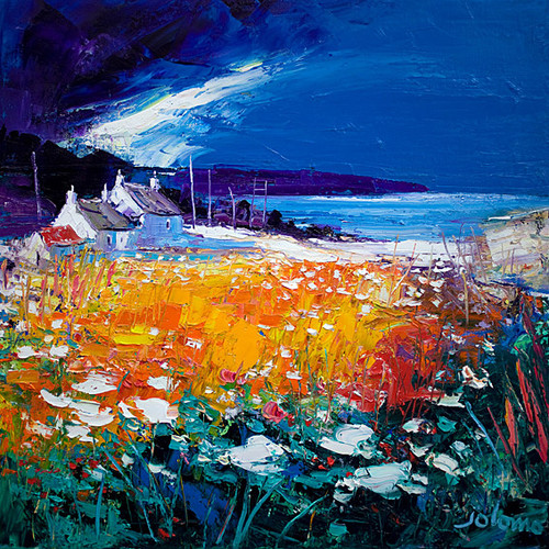 Autumn Light Westport Kintyre by John Lowrie Morrison