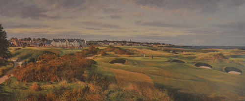Carnoustie, Championship Course by Donald Shearer