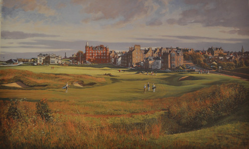 St. Andrews, 17th, Road Hole by Donald Shearer