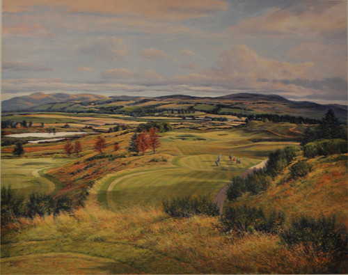 The 8th PGA, Gleneagles by Donald Shearer