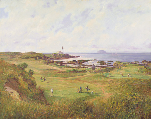 Turnberry, Ailsa Course by Donald Shearer