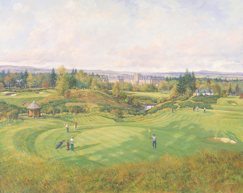 Gleneagles, The 17th, King's Course by Donald Shearer