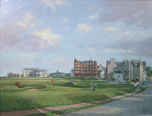 St. Andrews, The Road Hole, Old Course by Donald Shearer