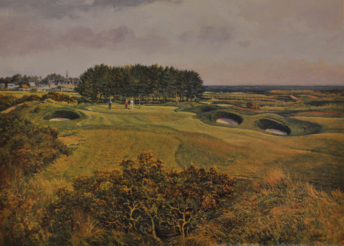 Carnoustie, 15th, Championship Course by Donald Shearer