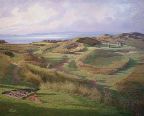 Royal Troon, The Postage Stamp by Donald Shearer