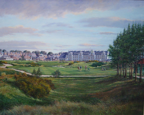 Carnoustie, 16th, Championship Course by Donald Shearer