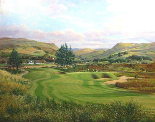 The 1st, PGA Centenary Course, Gleneagles by Donald Shearer