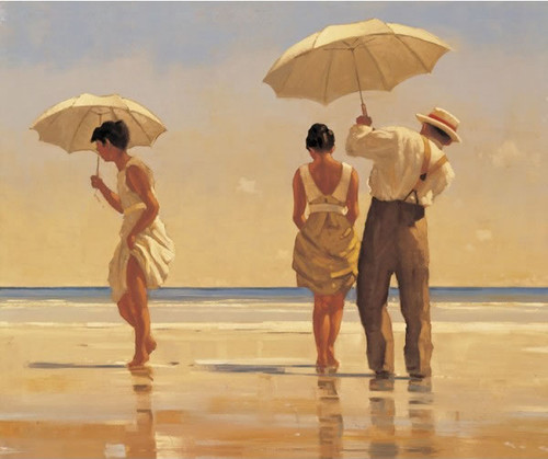 Mad Dogs... by Jack Vettriano