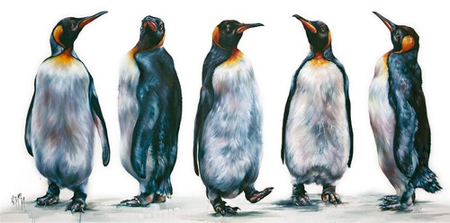 The Famous Five by Georgina McMaster