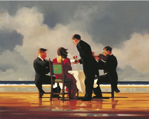 Elegy For The Dead Admiral by Jack Vettriano