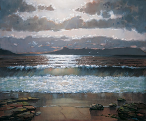 Evening Light Over Eigg by Ed Hunter