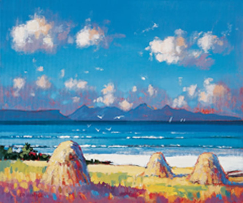 Haystacks, Arisaig by Ed Hunter