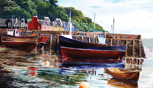 Tied Up, Tobermory by Ronnie Leckie