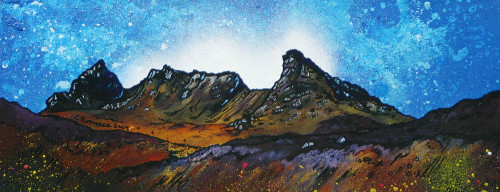 The Cobbler (Ben Arthur), Arrochar, Scotland - A landscape by Scottish artist Andy Peutherer  (Open Edition Print )