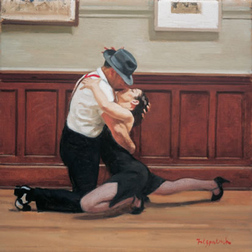 Tango Finale is an Open Edition dance print by Andrew Fitzpatrick