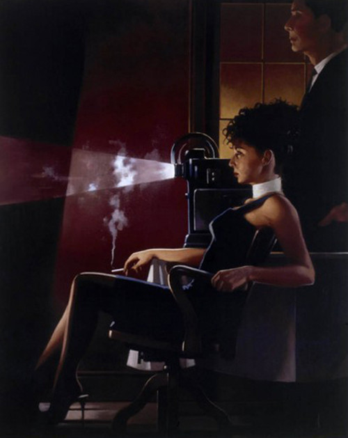 An Imperfect Past is a Premium Print surreal, figurative print by Scottish artist Jack Vettriano