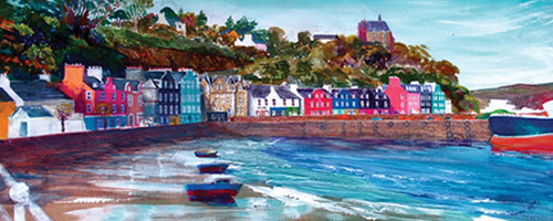Tobermory Shoreline by Ronnie Leckie