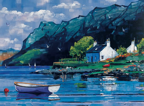 Crofts, Plockton is an Open Edition landscape print  by Scottish artist Daniel Campbell