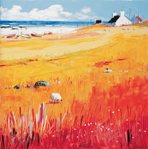 Croft, West Coast is an Open Edition landscape print  by Scottish artist Daniel Campbell