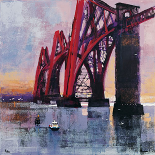 Forth Rail Bridge by Colin Ruffell