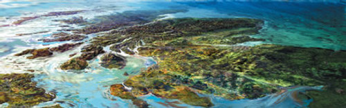 Scotland, The Big Picture is an Open Edition landscape print  by Scottish artist Ronnie Leckie