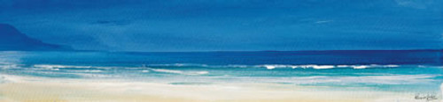 Aqua Blues II is an Open Edition landscape print  by Scottish artist Ronnie Leckie